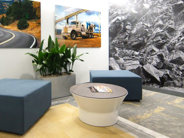 Martin Marietta HQ: Fresh Ideas + Eye-Popping Visuals